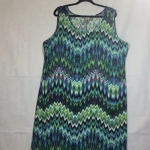 AVENUE PLUS Size 22/24 SLEEVELESS DRESS